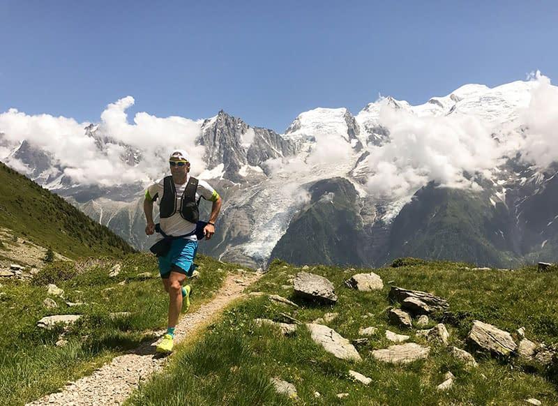 mountain path running