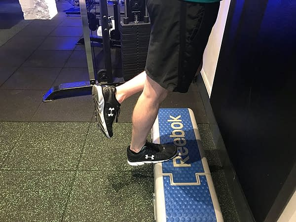 static calf exercise