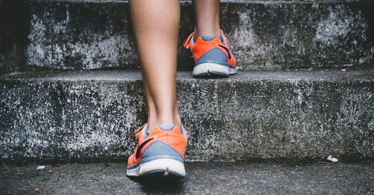 runner steps