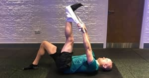 static hamstring exercise