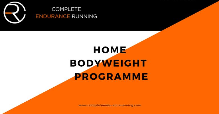 home bodyweight programme