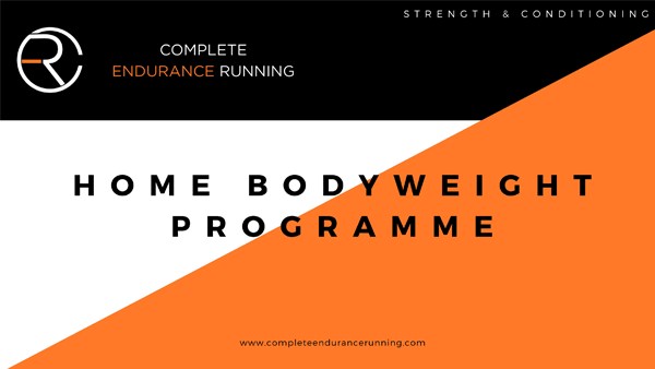 home bodyweight programme