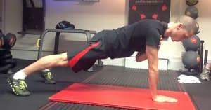 anti rotation plank