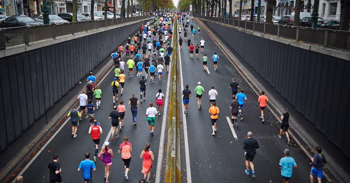 marathon road